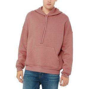 H&M Divergent hoodie dirty pink Sz Medium